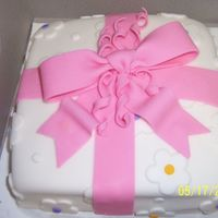 Fondant Present This was my first attempt with fondant and it sure did turn out great! I was very excited to see the finished product! =) I had many many...