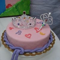 Princess Cake my first attempt on MMF. i used carrot cake for this.