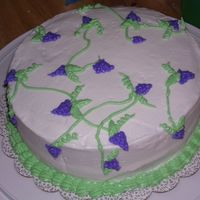 Grapes Cake for class