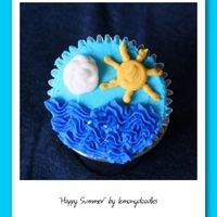 Happy Summer some cupcakes I made for my daughter's 2nd grade 'end of school' class party! She drew up the design & I brought it to...