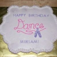 Ballet Cupcake Cake   All done in buttercreme. Dance & image are FBCT.