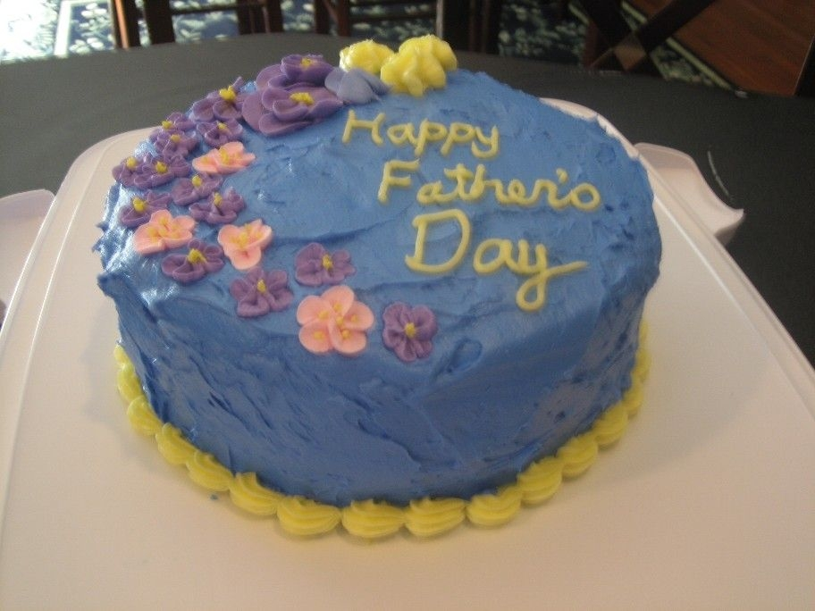 Father's Day Cake   This is the 4th cake I ever made. Only after the first WIlton course.