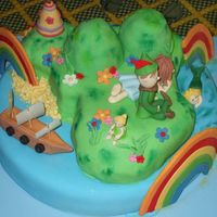 Peter Pan Neverland This cake was inspired in one cake i saw here in cake central.