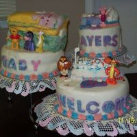 N770785323_4710795_2111.jpg   Baby shower cake made for my granddaughter .Everything is edible except winnie pooh characters.