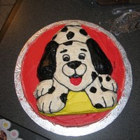 Puppy Cake! I did this cake for my niece's birthday. Although it is not perfect, she liked it a lot (she's two) and stuck her tongue out at...