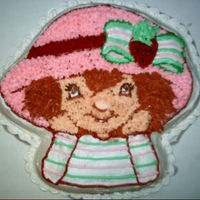 Strawberry Shortcake   the cartoon character for my daughters 4th birthday