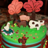 On The Farm Cake
