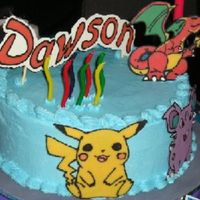 Pokemon Cake   Chocolate transfer
