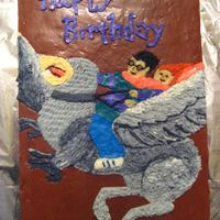 Harry Potter And The Prisoner Of Azkaban I just used the book as a guide and used buttercream