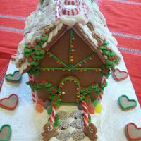 Gingerbread Front of house