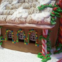 Gingerhouse Side View Merry Christmas! side view of house!!!