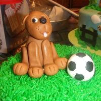 Puppy Dog Thanks aine2 for the puppy dog tutorial!!! I made this cake as a smash cake. It was a lot of fun!!