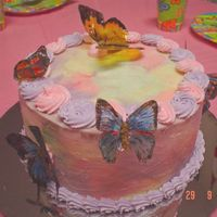 Butterfly Birthday Cake I got the inspiration for this from a cake I found here by Lindakbh - thank you. This was for my daughter's 6th birthday - she wanted...