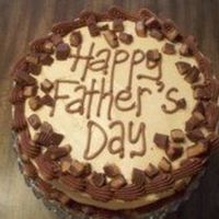 Chocolate And Peanut Butter Father's Day Cake