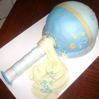 Shake, Rattle & Roll Rattle cake for my cousin's friend. My first and hoping to get an actual rattle next time. LOL.