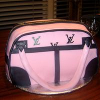 Pinky Purse Purse cake done for birthday