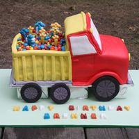 Brenner's Dump Truck Cake I made this for my cousin's son's second birthday. Brenner is really into trucks especially dump trucks, and this Wilton version...