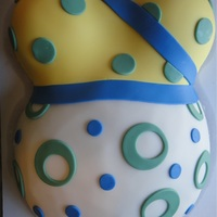 Belly Cake This is my 2nd Belly Cake. I had a blast working with the fondant- I'm new to that game:)