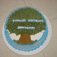 Family Tree My mother in law is very active in researcing genealogy, so this was my idea for a family tree cake... But there's not much room for...