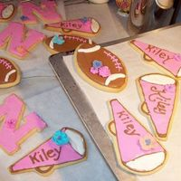 Nebraska Football Fanatic Some of you gave me some ideas for the baby shower cookies I wanted to make and send to my neice for her baby shower this weekend. This is...