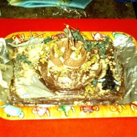Army Birthday Cake This is a picture of my son Ethan's 6th birthday cake. We had an army theme, so I thought it would be fun to make my own cake. I...