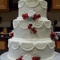 Wanna Be Bakery Wedding Cake This second time bride found her perfect cake through the Publix bakery. She brought me a picture, and I tweaked it to make it her Wedding...