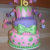 Sweet 16   Covered and decorated in MMF
