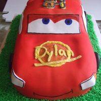 Cars I made this for a 5 yr old boy..mmf buttercream, marble cake