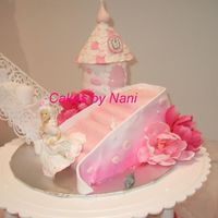 Cinderella Castle mmf , I hand made Cinderella, the shoe and mouse,,,everything except the flowers edible.....for a quinceanera