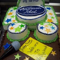 "American Idol 200+ servings for my boss's son's school play called ""A True American Idol""."