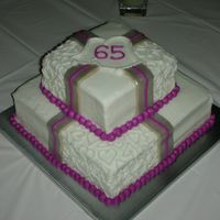 65Th Anniversary My grandparents celebrated their 65th wedding anniversary this past weekend! My mom wanted me to use the same design that I had used for a...