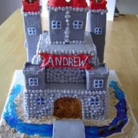 Boys Castle Castle cake for a boy