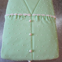 Love My Pj's! This is part of another cake, but it gets hidden so I made sure I got a good pic of it first!