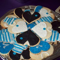 Wedding Dress And Tux Cookies Wedding Dress and Tux Cookies