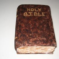 Bible This was for my husband's birthday. He is the associate pastor at our church and so I thought this was appropiate. Thanks missjane for...