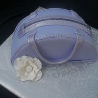 Purple Purse My first purse cake. I was just playing around with it.