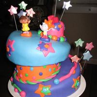 Dora Whimsical Crazy Cake Thank you so much SLK for your Dora cake photo. As soon as my niece saw it, she had to have one. Here is my rendition of your awesome...