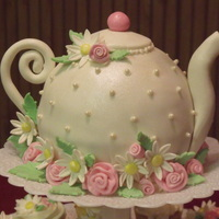 Teapot Cake In honor of my aunt's 85th birthday, her daughter threw her a suprise tea party, complete with little finger sandwiches, scones,...
