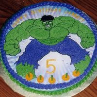 Incredible Hulk Birthday Cake I couldn't find an incredible hulk cake pan so I drew this picture and tranformed it onto a cake. It was a big hit!