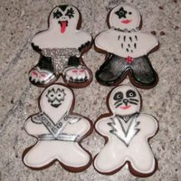 Kiss Gingerbread Cookies My KISS gingerbread cookies were inspired by the KISS marathon on VH-1 classic around the holidays. My husband and I are fans, so I had to...