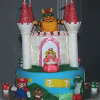 Super Mario Birthday Cake!