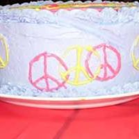 Peace Cake Side View Here is the side view of my peace cake