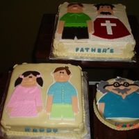 24Afre2.jpg This cake was made for a fathers day luncheon held at my church. The main Father is wearing a typical priest vestment. I have a lot of fun...
