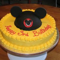Mickey Mouse Hat Front