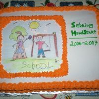 "Sebring Headstart ""school"" Cake   I had posted this one before, but somehow managed to delete it. Enjoy!"