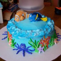 Nemo   Birthday cake for my nephew