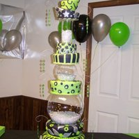 Sweet 16 Tower Of Cake My niece turned 16 last weekend and this is the cake i made for her. I told her i would make it as tall as she is, needless to say i have...