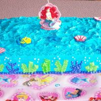Ariel, The Little Mermaid, Cake