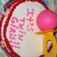 Cake For Twin Girls