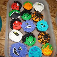 Halloween Cupcakes Just a few cupcakes for a halloween party